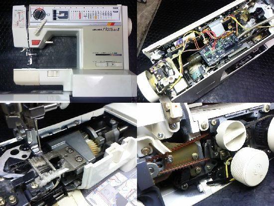 JUKIフローラDX2のミシン修理