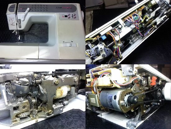JUKI HZL-7600のミシン修理