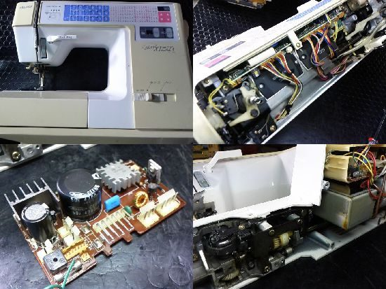 JUKI HZL-7700のミシン修理