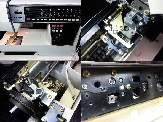 ジャノメメモリア5002のミシン修理