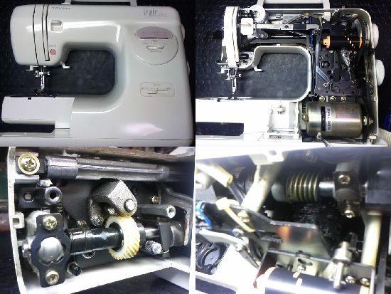 トヨタSEWIE60のミシン修理