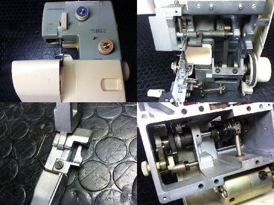 ジャノメマイロック2のミシン修理