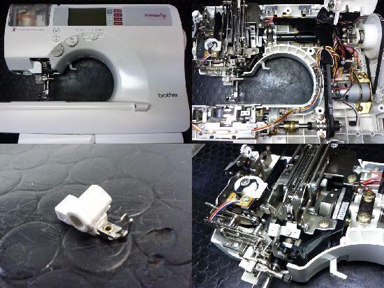 ブラザーEMS09のミシン修理