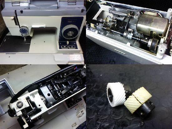 リッカーマイティ1000のミシン修理