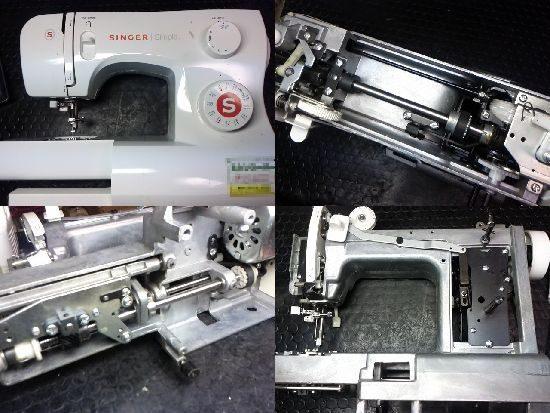 シンガーSN620のミシン修理