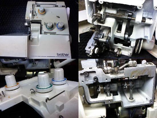 ブラザーTE4-B430のロックミシン修理