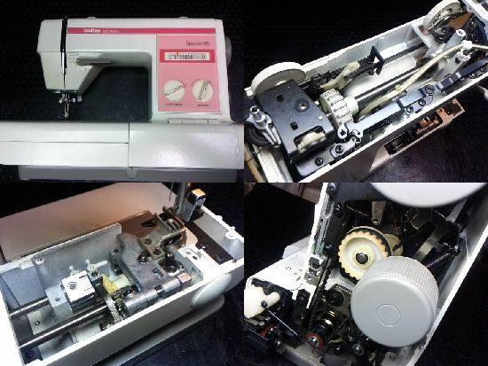 ブラザーZZ3-B746のミシン修理