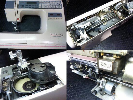 センサークラフト7301のミシン修理