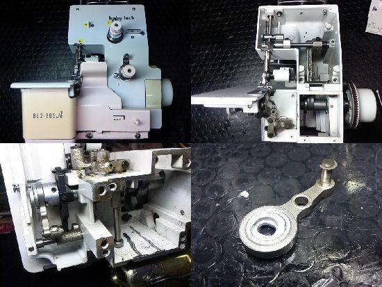 BL2-205Aのミシン修理