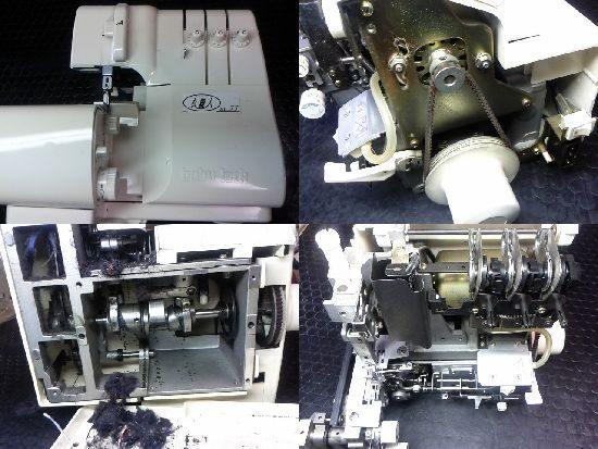 衣縫人BL33のミシン修理
