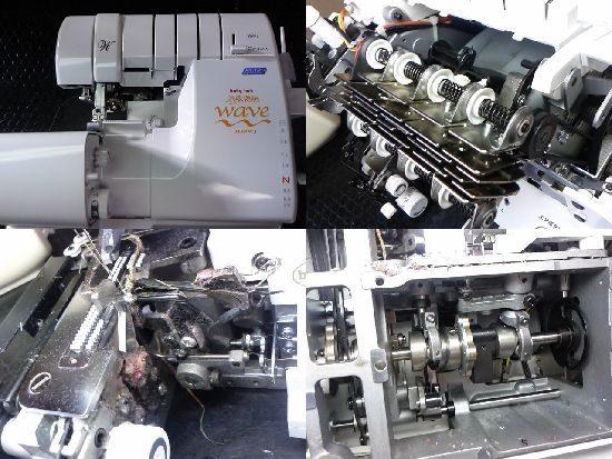 ベビーロック糸取物語BL69WJのミシン修理
