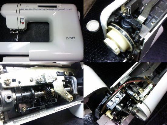 カデット4000のミシン修理
