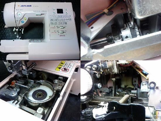ジャガーCD-2203MPのミシン修理