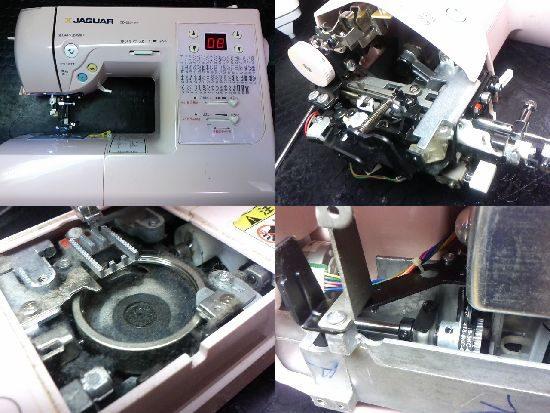 ジャガーミシン修理CD-2204MP