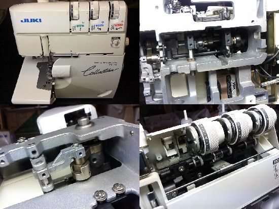 JUKIコレクションMO-333のミシン修理