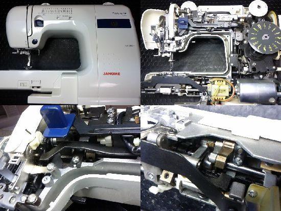 ジャノメE4000のミシン修理