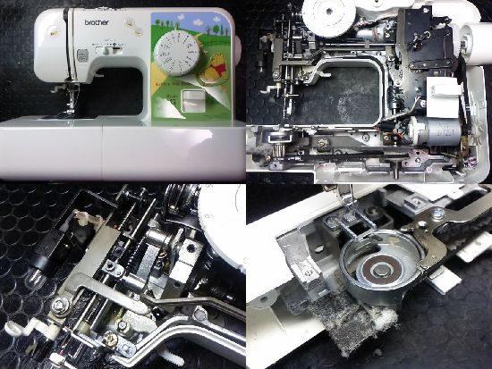 くまのプーさんのミシン修理