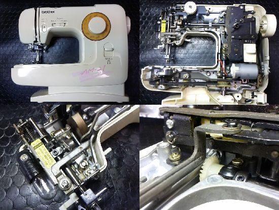 ブラザーEL130のミシン修理