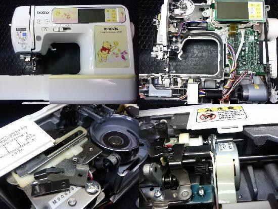 ブラザーWP1200のミシン修理