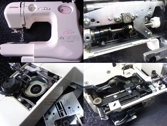 ジャノメES7のミシン修理