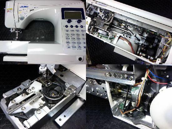 エクシードキルトスペシャルのミシン修理