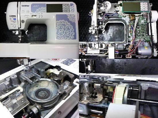 ブラザーFM800のミシン修理