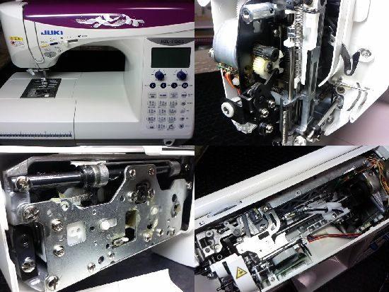 FQ65のJUKIミシン修理