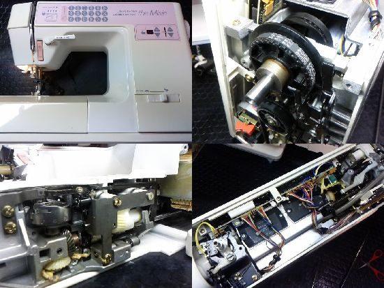 JUKIミシン修理HZL-7500