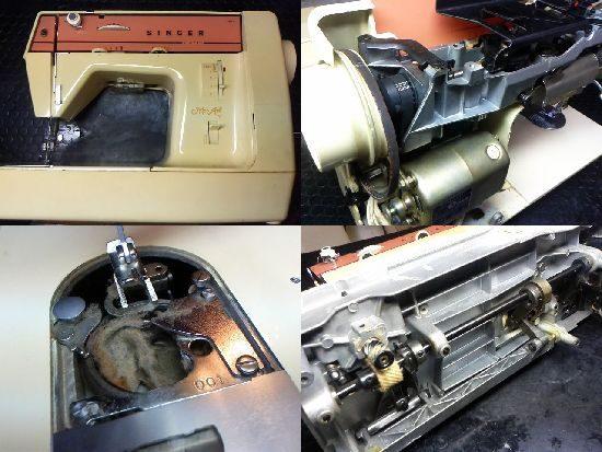 シンガーモナミ387のミシン修理