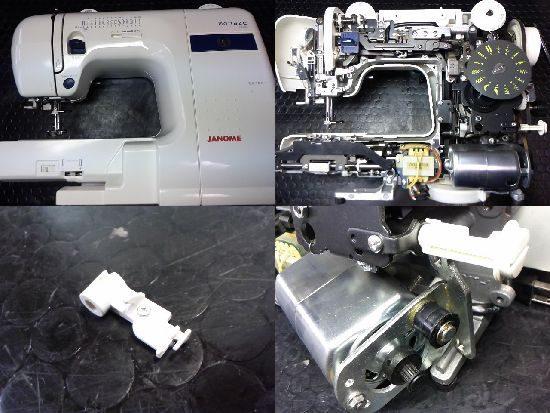 Monaze E4000のJANOMEミシン修理
