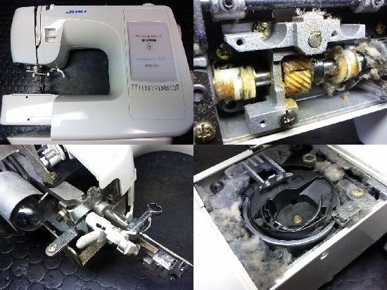 JUKI monreve333のミシン修理