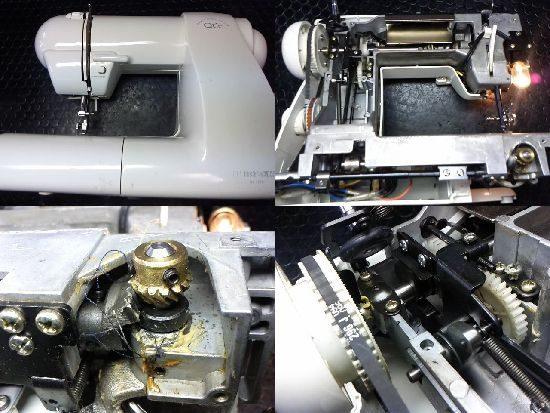 シンガーQtieのミシン修理