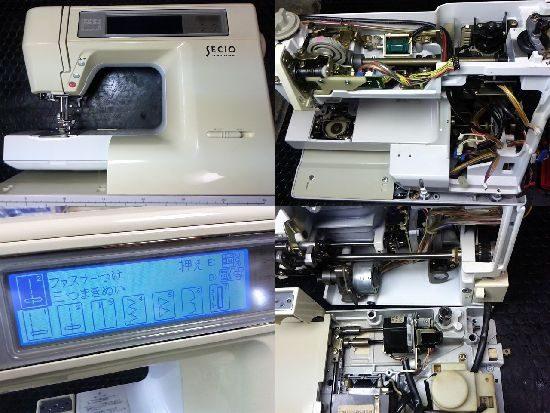 ジャノメセシオ8210のミシン修理