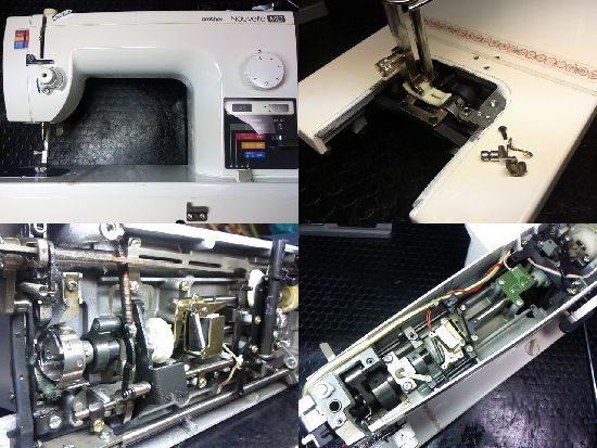 ブラザーヌーベルMDのミシン修理
