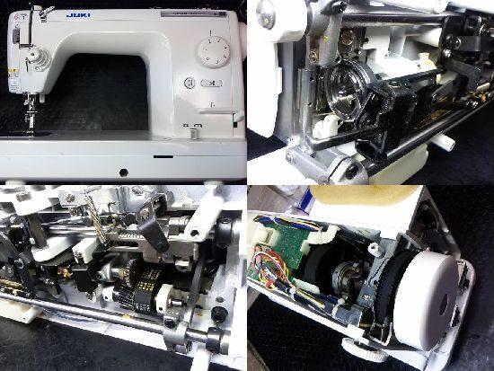 JUKIシュプール30デラックスのミシン修理