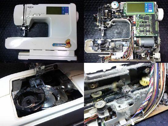 ブラザーP-5000のミシン修理