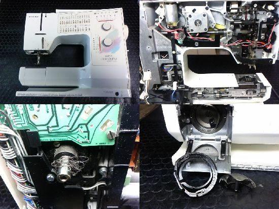 ホリデーヌ1090のミシン修理