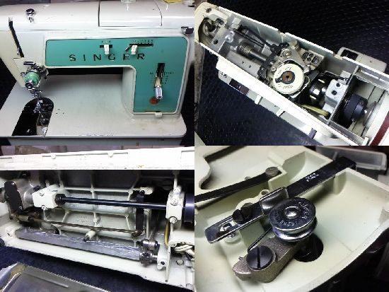 シンガー617Uのミシン修理