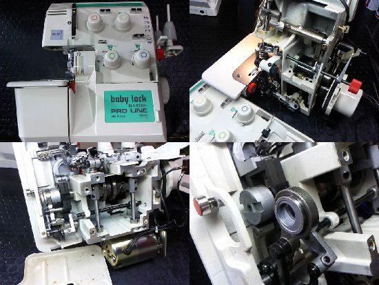 ベビーロックプロラインのミシン修理