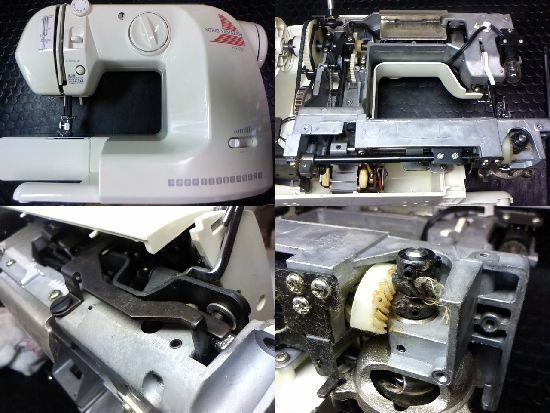 AG-001のミシン修理