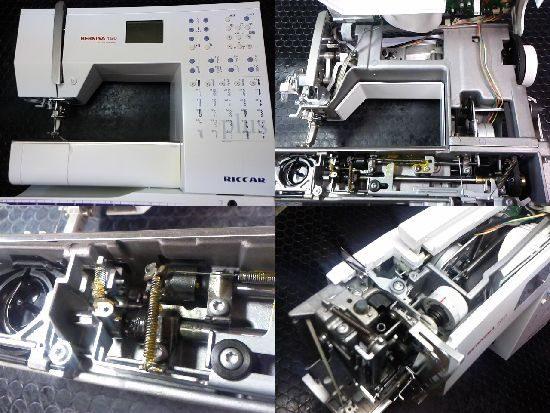 リッカーベルニナ160のミシン修理