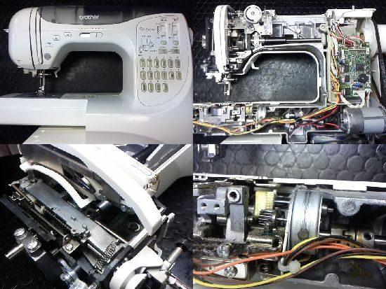 ブラザーBf-6500のミシン修理