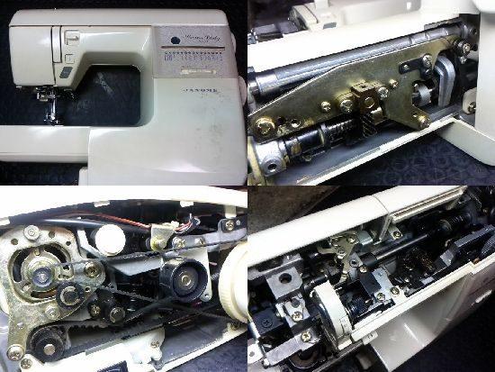 ジャノメCL5007のミシン修理