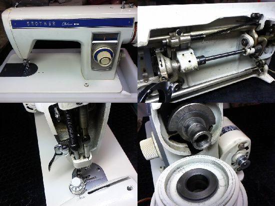 ブラザーデラックス150のミシン修理