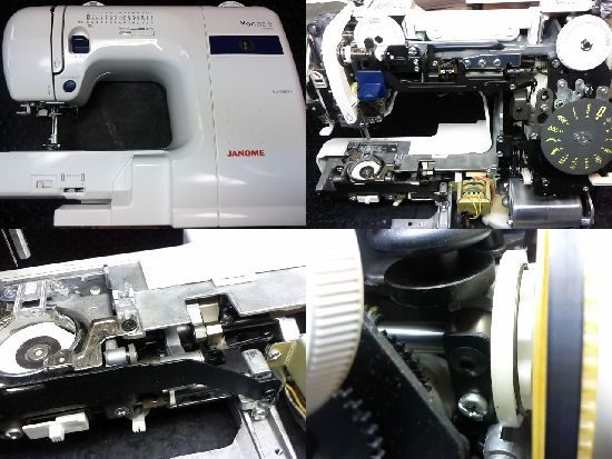 モナーゼE4000のミシン修理