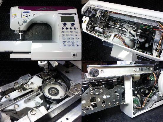 JUKIミシン修理FQ65