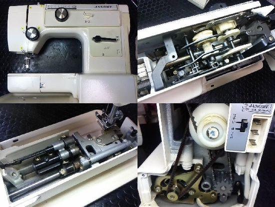 ジャノメ620型のミシン修理