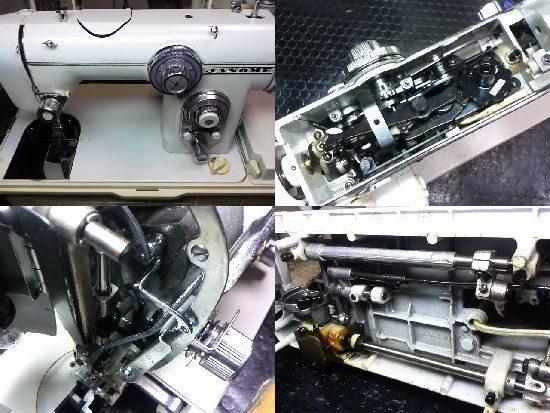 ダイヤルスーパー672型のミシン修理