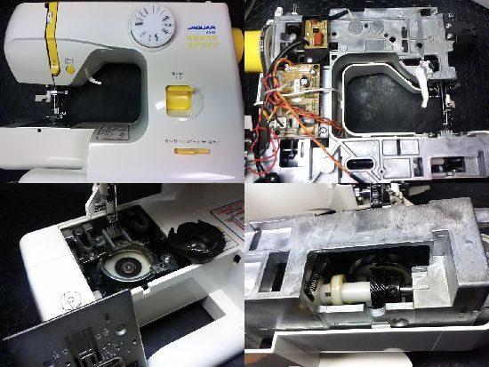 ジャガーKA-01のミシン修理