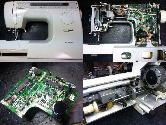 シンガー7800のミシン修理